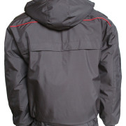 Куртка зимняя Снег-М мембрана с красным кантом