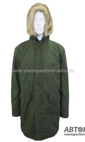 Куртка зимняяя под Офисный костюм олива