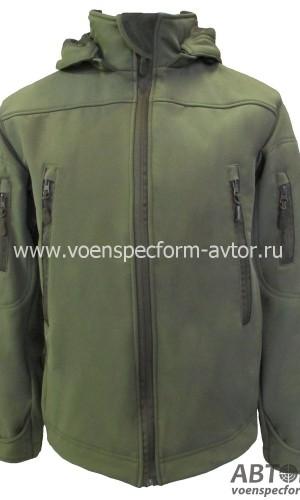 Куртка Софтшелл хаки