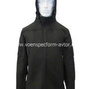 Куртка Софтшелл черная
