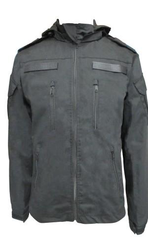 Куртка демисезонная Росгвардия на флисе черная