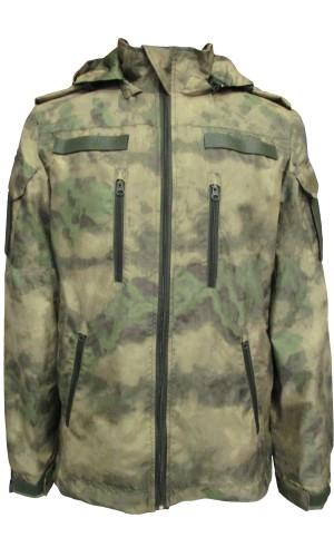 Куртка демисезонная Росгвардия на флисе мох